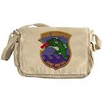 USS GROUPER Messenger Bag