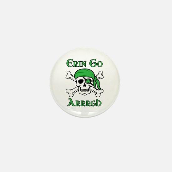 Irish Pirate - Erin Go Arrrgh Mini Button