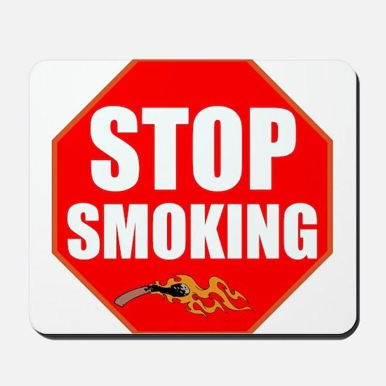 Stop Smoking Mousepad