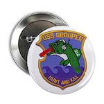 """USS GROUPER 2.25"""" Button"""