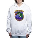 USS GROUPER Women's Hooded Sweatshirt