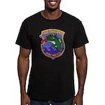 USS GROUPER Men's Fitted T-Shirt (dark)