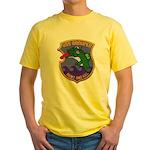 USS GROUPER Yellow T-Shirt