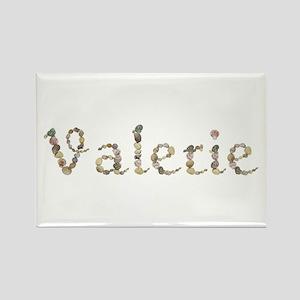 Valerie Seashells Rectangle Magnet