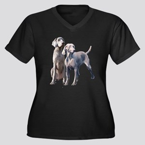 Weimaraners Plus Size T-Shirt