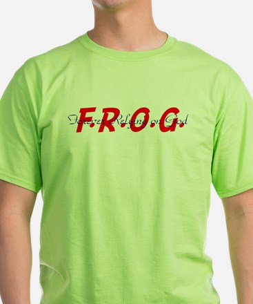 Blue and Red FROG T-Shirt