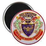 USS GROUPER Magnet