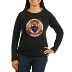 USS GROUPER Women's Long Sleeve Dark T-Shirt