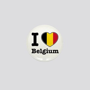 I love Belgium Mini Button