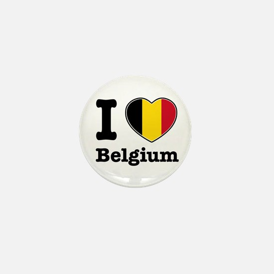 I love Belgium Mini Button