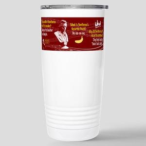 Beethoven Jokes Travel Mug