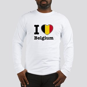 I love Belgium Long Sleeve T-Shirt