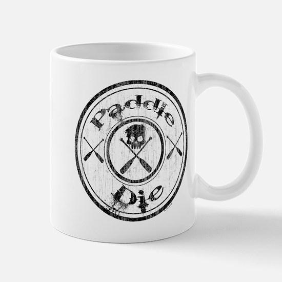 Paddle Oar Die (circle) Mug