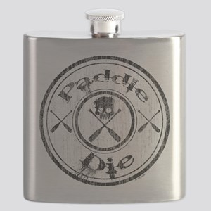 Paddle Oar Die (circle) Flask
