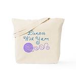 Dances With Yarn Tote Bag