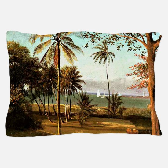 Bierstadt - Florida Scene Pillow Case