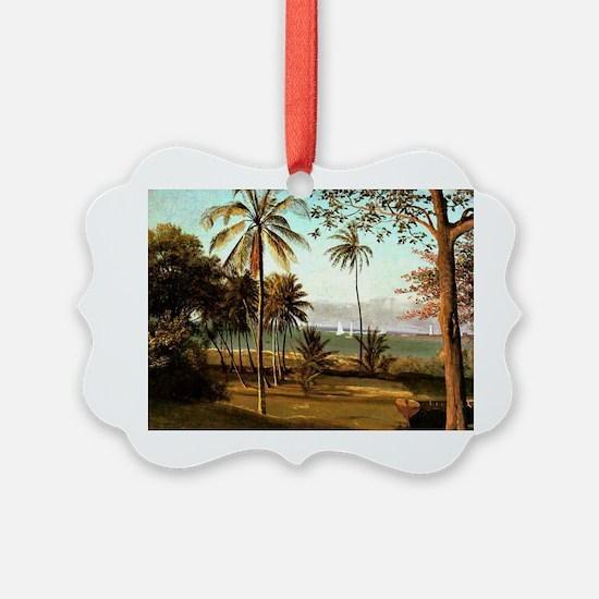 Bierstadt - Florida Scene Ornament