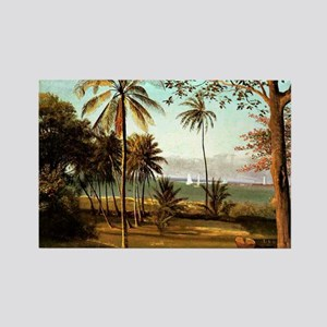 Bierstadt - Florida Scene Rectangle Magnet