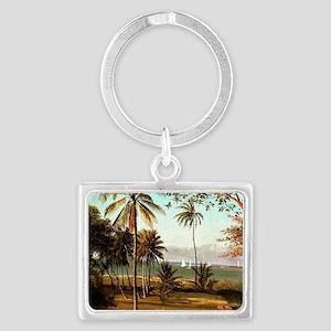 Bierstadt - Florida Scene Landscape Keychain