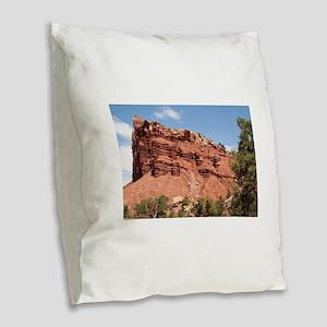 Capitol Reef National Park, Ut Burlap Throw Pillow