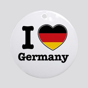 I love Germany Ornament (Round)