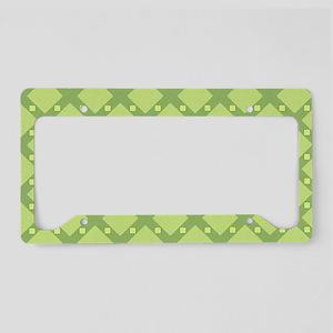 Cross Check License Plate Holder