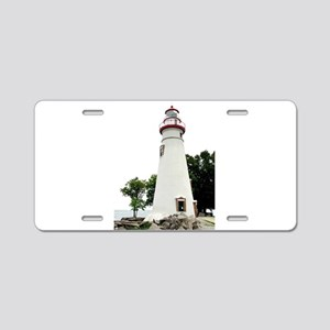 Marblehead Lighthouse Aluminum License Plate