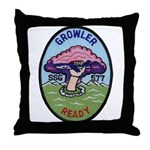 USS GROWLER Throw Pillow