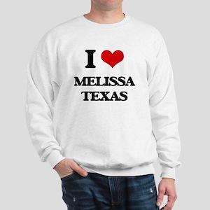 I love Melissa Texas Sweatshirt
