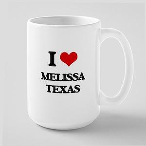 I love Melissa Texas Mugs
