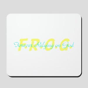 Yellow FROG Mousepad