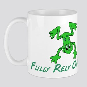 Green Cute Frog Mug