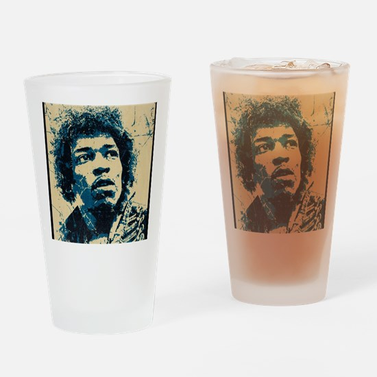 Jimi Drinking Glass