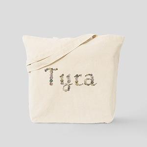 Tyra Seashells Tote Bag