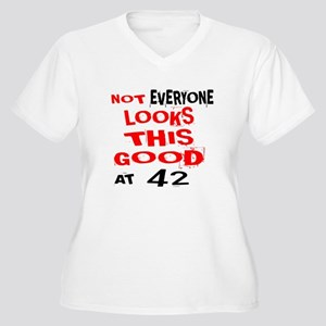 Not Every one Loo Women's Plus Size V-Neck T-Shirt