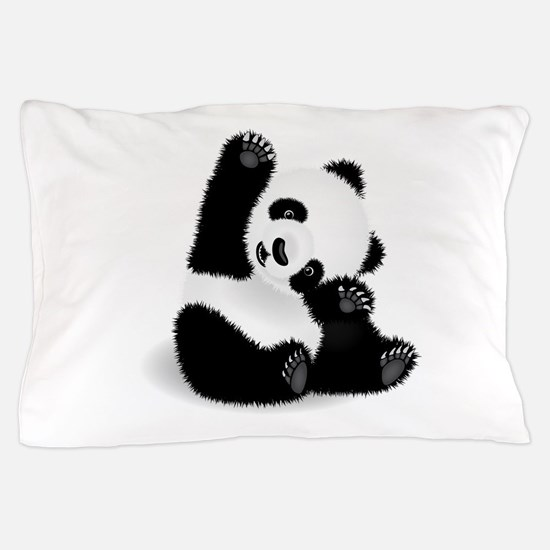 Baby Panda Pillow Case