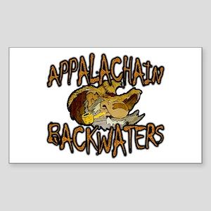 Appalachain Backwaters Sticker