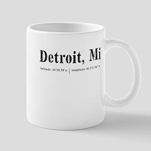 Detroit, MI Mugs