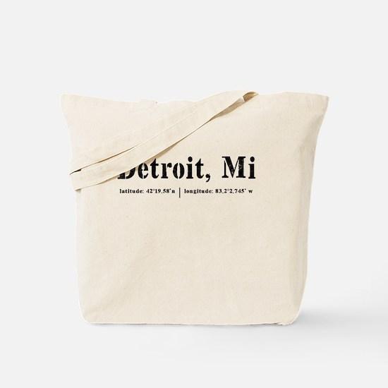 Detroit, MI Tote Bag