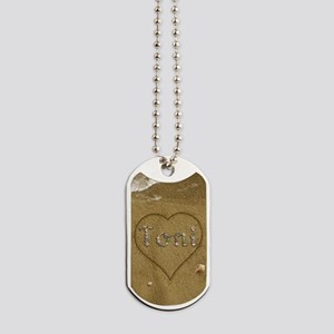 Toni Beach Love Dog Tags