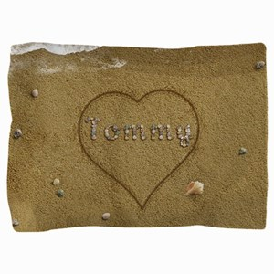 Tommy Beach Love Pillow Sham