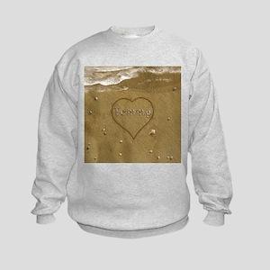 Tommy Beach Love Kids Sweatshirt