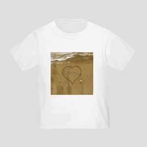 Tommy Beach Love Toddler T-Shirt