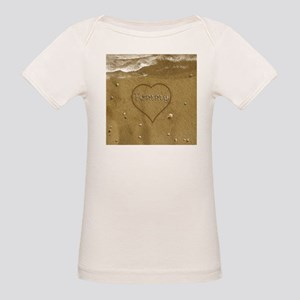 Tommy Beach Love Organic Baby T-Shirt