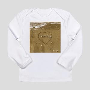 Tommy Beach Love Long Sleeve Infant T-Shirt
