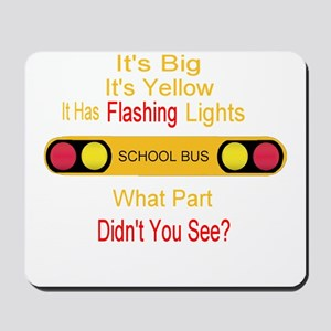 4-flashinglights Mousepad