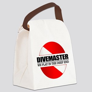 Divemaster (rd) Canvas Lunch Bag
