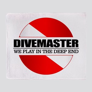 Divemaster (rd) Throw Blanket