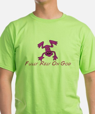 Pink Cute Frog T-Shirt
