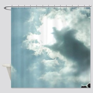 When Pigs Fly Shower Curtain
